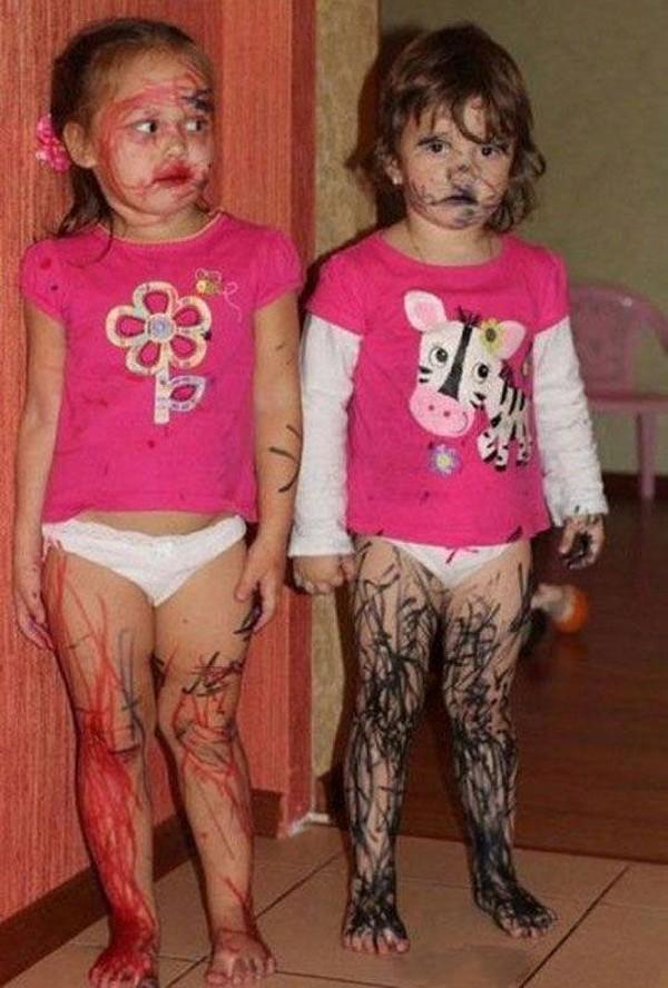 Yaramaz Çocukların Halini Gösteren 30 Komik Fotoğrafı