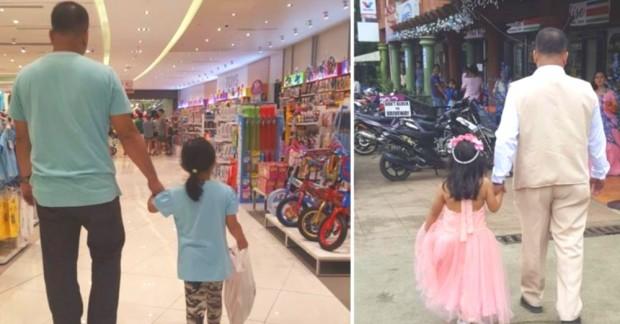 Filipinli bir kadın kızının babasıyla mutlu olduğu tüm anların fotoğraflarını gizlice çekerek sosyal medyada paylaştı. İşte o kareler!